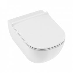 MIO-N bílá WC mísa závěsná s uzavřeným splach.kruhem (4,5/3L) (H8207120000001) - JIKA
