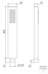 STEINBERG - Ruční sprcha (099 9675), fotografie 2/1