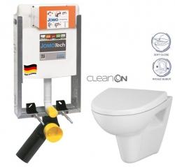 SET JOMOTech Modul pro zazdění LIGHT + sedátko + WC  CERSANIT CLEANON PARVA (164-14600479-00 PA1) - AKCE/SET/JOMO