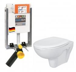 SET JOMOTech Modul pro zazdění LIGHT + sedátko + WC  CERSANIT PRESIDENT (164-14600479-00 PR1) - AKCE/SET/JOMO