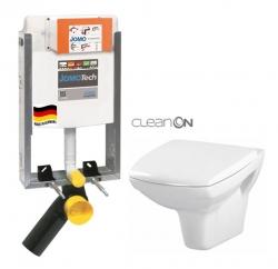 SET JOMOTech Modul pro zazdění LIGHT + sedátko + WC CERSANIT CLEANON CARINA (164-14600479-00 CA1) - AKCE/SET/JOMO