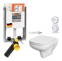 SET JOMOTech Modul pro zazdění LIGHT + sedátko + WC  CERSANIT CLEANON COLOUR (164-14600479-00 CN1) - AKCE/SET/JOMO