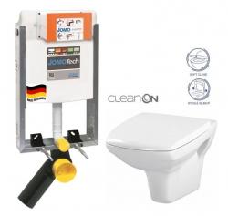 SET JOMOTech Modul pro zazdění LIGHT + sedátko + WC CERSANIT CLEANON CARINA (164-14600479-00 CA2) - AKCE/SET/JOMO