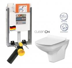 SET JOMOTech Modul pro zazdění LIGHT + sedátko + WC CERSANIT CLEANON CARINA (164-14600479-00 CA3) - AKCE/SET/JOMO