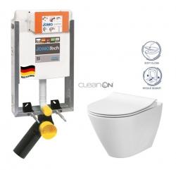 JOMOTech modul pro zazdění LIGHT bez desky + WC CERSANIT CLEANON CITY (164-14600479-00 CI1)