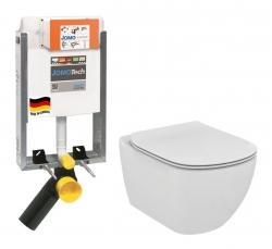 JOMOTech modul pro zazdění LIGHT bez desky + WC Ideal Standard Tesi se sedátkem (164-14600479-00 TE3)