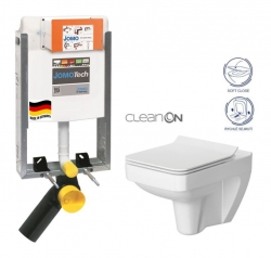 JOMOTech modul pro zazdění LIGHT bez desky + WC CERSANIT CLEANON SPLENDOUR + SEDÁTKO (164-14600479-00 SP1)