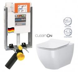 SET JOMOTech Modul pro zazdění LIGHT + sedátko + WC  CERSANIT CLEANON METROPOLITAN (164-14600479-00 ME1) - AKCE/SET/JOMO