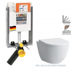 AKCE/SET/JOMO - SET JOMOTech Modul pro zazdění LIGHT + WC LAUFEN PRO RIMLESS + SEDÁTKO (164-14600479-00 LP1)
