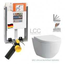 AKCE/SET/JOMO - SET JOMOTech Modul pro zazdění LIGHT + sedátko + WC LAUFEN PRO LCC RIMLESS (164-14600479-00 LP2)