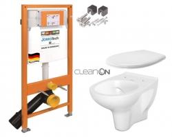 SET JOMO Duofix modul pro závěsné WC + montážní sada + sedátko + WC CERSANIT CLEANON ARTECO (174-91100700-00 AT2) - AKCE/SET/JOMO