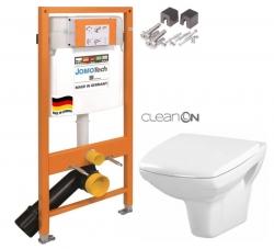 SET JOMO Duofix modul pro závěsné WC + montážní sada + sedátko + WC CERSANIT CLEANON CARINA (174-91100700-00 CA1) - AKCE/SET/JOMO