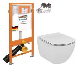 SET JOMO Duofix modul pro závěsné WC + montážní sada + sedátko + WC TESI (174-91100700-00 TE3) - AKCE/SET/JOMO