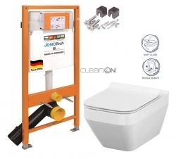 AKCE/SET/JOMO - SET JOMO Duofix modul pro závěsné WC + montážní sada + sedátko + WC CERSANIT CLEANON CREA ČTVEREC (174-91100700-00 CR2)
