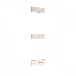 TRES - 3 zapuštěné hydromasážní trysky 140x45mm. Materiál Mosaz. (29951505AC)