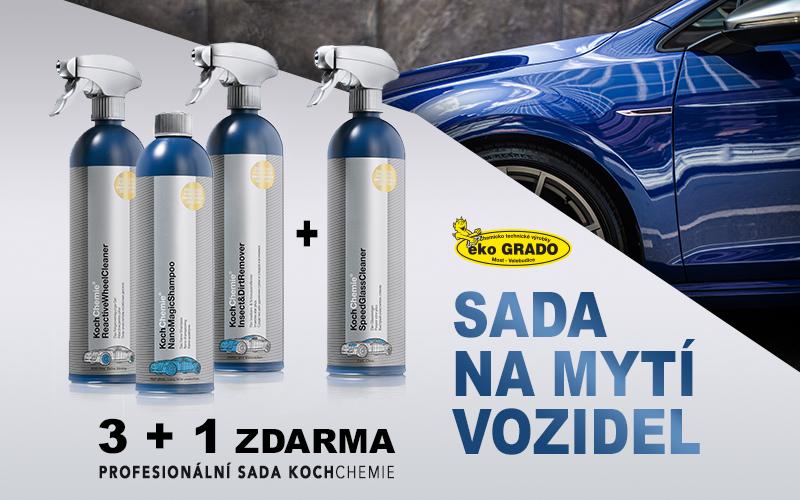 KOCH CHEMIE Sada na mytí vozidel Koch 3+1 výrobek Zdarma EG794