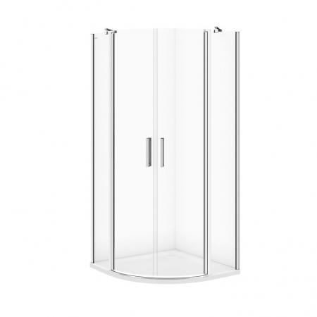 Sprchový kout MODUO čtvrtkruh 90x195, kyvné, čiré sklo (S162-010)