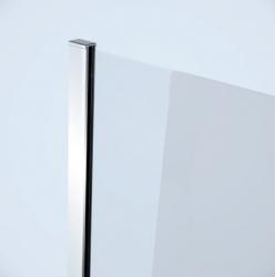 Sprchový kout MODUO čtvrtkruh 90x195, kyvné, čiré sklo (S162-010), fotografie 14/7