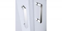 Sprchový kout čtvrtkruh 80 x190, R55, posuv, čiré sklo (S154-001), fotografie 6/5
