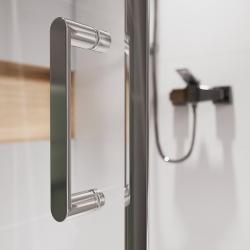 Sprchový kout obdélník 100x80x190, posuv, čiré sklo (S154-003), fotografie 10/8