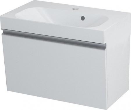 SAPHO - MELODY umyvadlová skříňka 60x38x34cm + um. JOY 60cm, bílá (56051-SET)