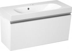 SAPHO - MELODY umyvadlová skříňka 80x38x34cm + um. JOY 80cm, bílá (56052-SET)