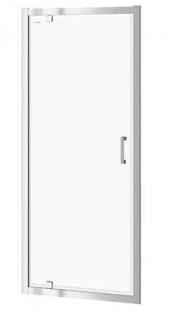 Sprchové dveře BASIC 90x185, kyvné, čiré sklo (S158-002)