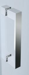 Sprchové dveře BASIC 90x185, kyvné, čiré sklo (S158-002), fotografie 6/3