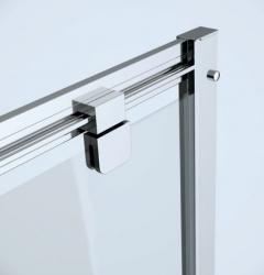 Sprchové dveře ARTECO 80x190, kyvné, čiré sklo (S157-007), fotografie 4/3