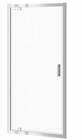 Sprchové dveře ARTECO 90x190, kyvné, čiré sklo (S157-008)