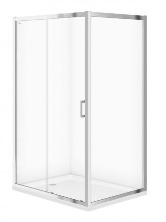 Sprchový kout ARTECO obdélník 120x90x190, posuv, čiré sklo (S157-012)