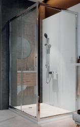 Sprchový kout ARTECO obdélník 120x90x190, posuv, čiré sklo (S157-012), fotografie 4/4