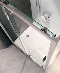 Sprchový kout ARTECO obdélník 120x90x190, posuv, čiré sklo (S157-012), fotografie 6/4