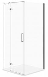 CERSANIT - Sprchový kout JOTA čtverec 90x195, kyvný, levý, čiré sklo (S160-001)