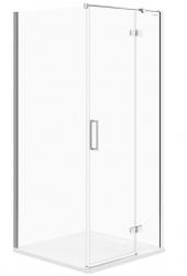 CERSANIT - Sprchový kout JOTA čtverec 90x195, kyvný, pravý, čiré sklo (S160-002)