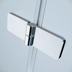 Sprchový kout JOTA čtverec 90x195, kyvný, pravý, čiré sklo (S160-002), fotografie 8/9
