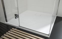 Sprchový kout JOTA čtverec 90x195, kyvný, pravý, čiré sklo (S160-002), fotografie 16/9
