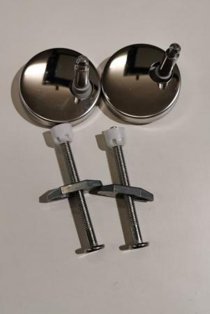 ND-uchycení pro duroplastová WC sedátka - šrouby s matkou a panty k WC sedátkům Eisl  (ND-duroplast) (ND-duroplast)