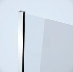 Sprchová pevná boční stěna MODUO 80x195, čiré sklo (S162-007), fotografie 2/2