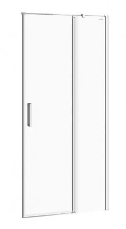 Kyvné dveře s pevným polem MODUO 90x195, pravé, čiré sklo (S162-006)