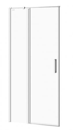 Kyvné dveře s pevným polem MODUO 90x195, levé, čiré sklo (S162-005)