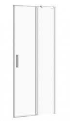 CERSANIT - Kyvné dveře s pevným polem MODUO 80x195, pravé, čiré sklo (S162-004)