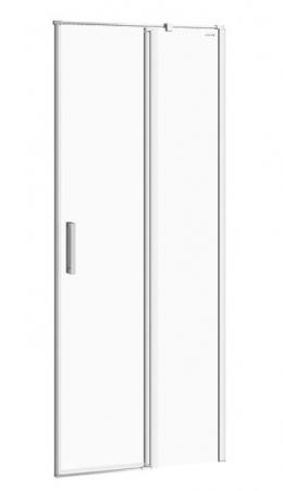 Kyvné dveře s pevným polem MODUO 80x195, pravé, čiré sklo (S162-004)