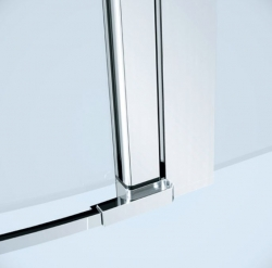 Kyvné dveře s pevným polem MODUO 90x195, levé, čiré sklo (S162-005), fotografie 2/5