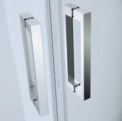 Kyvné dveře s pevným polem MODUO 80x195, levé, čiré sklo (S162-003), fotografie 8/5