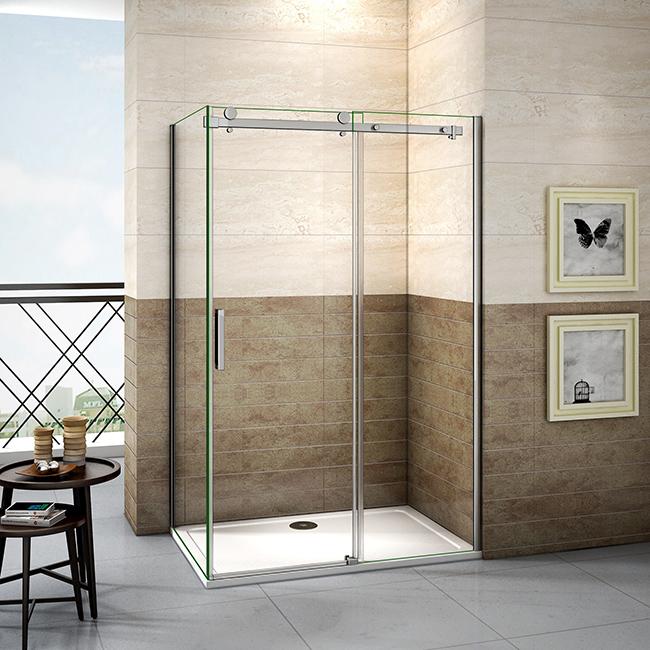 H K Sprchový kout DIAMOND 100x80 cm L/P varianta včetně sprchové vaničky z litého mramoru SE- DIAMON