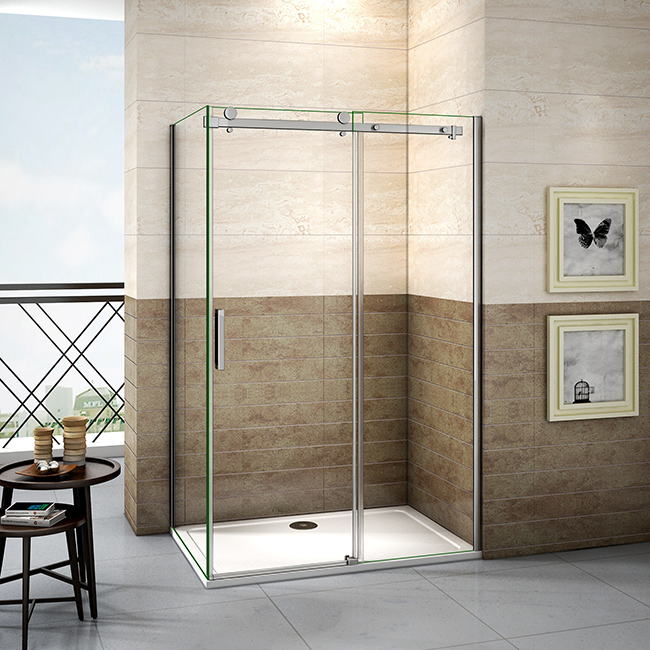 H K Sprchový kout DIAMOND 120x80 cm L/P varianta včetně sprchové vaničky z litého mramoru SE-DIAMOND