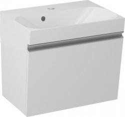 MELODY umyvadlová skříňka 50x38x34cm + um. JOY 50cm, bílá (56050-SET) - SAPHO