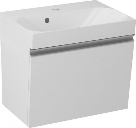 SAPHO - MELODY umyvadlová skříňka 50x38x34cm + um. JOY 50cm, bílá (56050-SET)