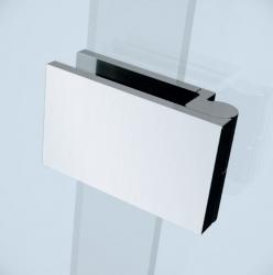 Sprchové dveře s panty CREA 100x200, levé, čiré sklo (S159-001), fotografie 2/7
